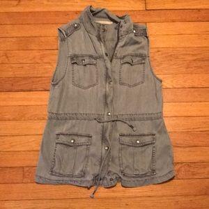 Max jeans denim like vest